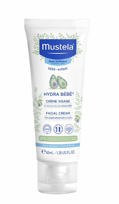 Crema hidratanta de fata Hydra Bebe, 40ml, Mustela la preț mic imagine