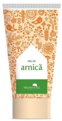 Gel cu extract de arnica, 150 ml, Transvital