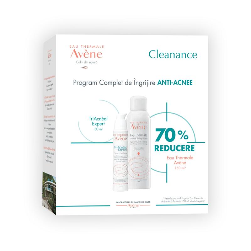 Pachet Triacneal Expert Emulsie ten acneic 30ml + Apa termala 150ml cu 70% reducere, Avene