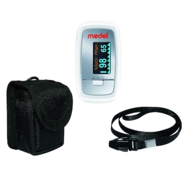 Pulsoximetru de deget Oxygen PO01, 1 bucata, Medel