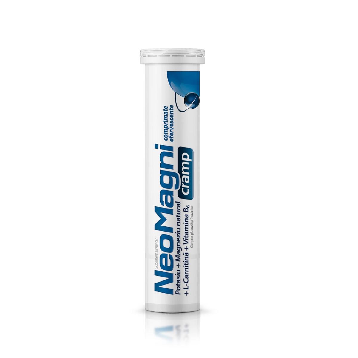 NeoMagni cramp, 20 comprimate efervescente, Aflofarm imagine produs 2021