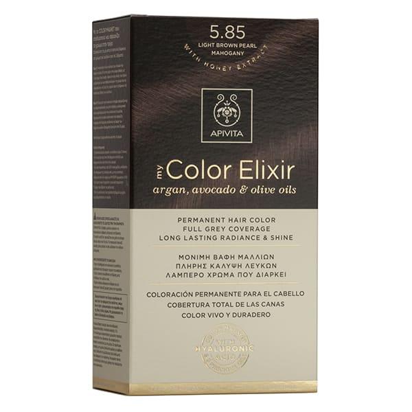 Vopsea My Color Elixir, N5.85, Apivita drmax.ro