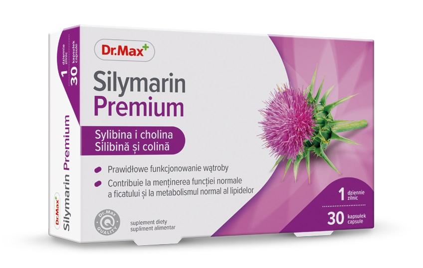 Dr.Max Silimarina premium, 30 capsule drmax poza