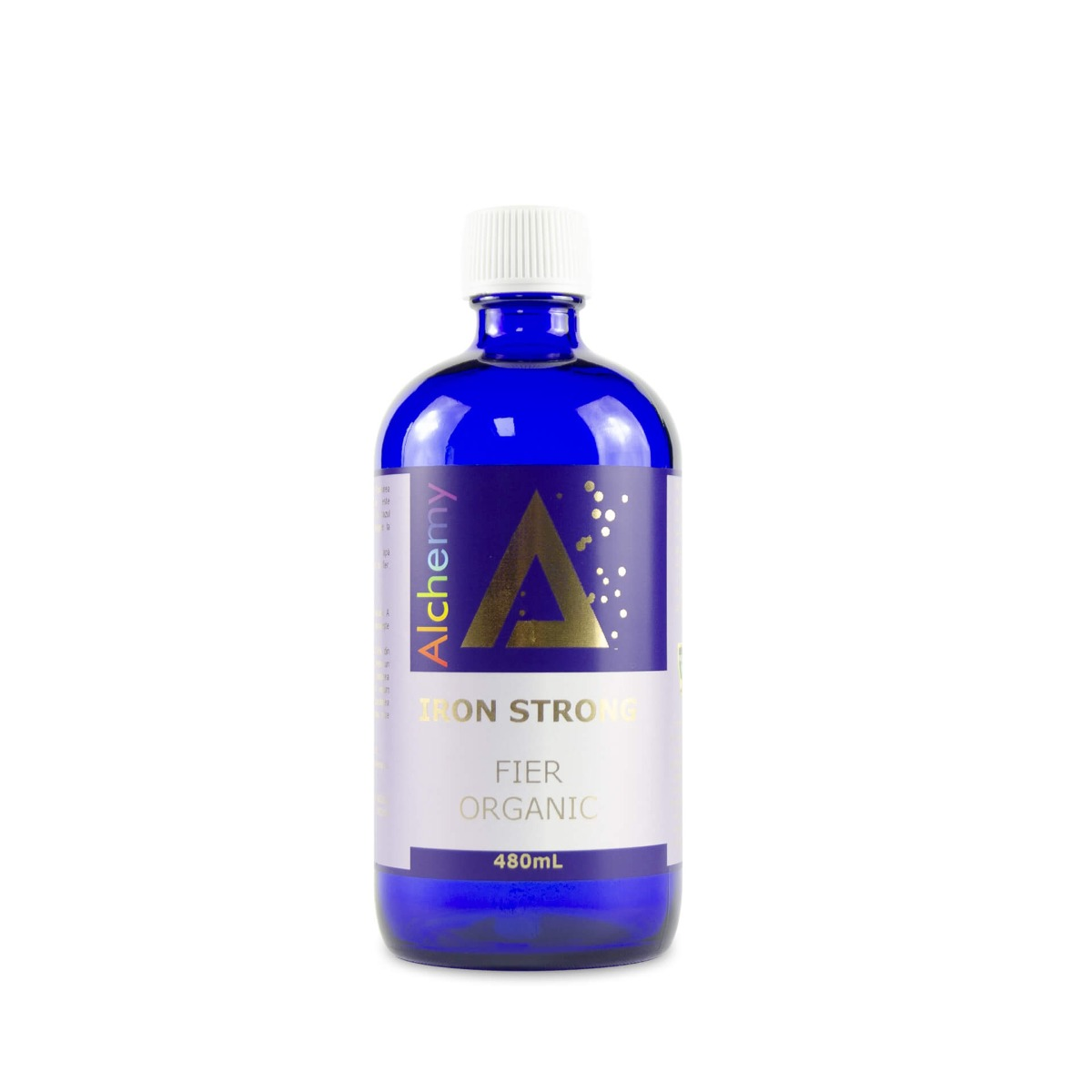 Iron Strong fier ionic organic Alchemy, 480ml, Aghoras drmax.ro