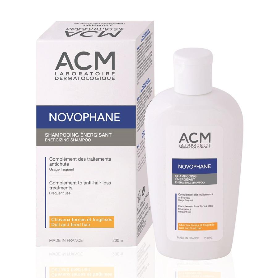 Sampon energizant pentru par fragil Novophane, 200ml, ACM imagine produs 2021
