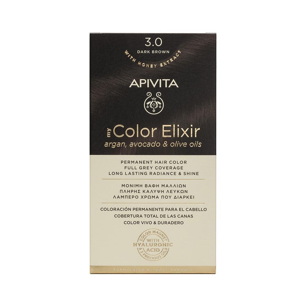 Vopsea My Color Elixir, N3.0, Apivita drmax.ro