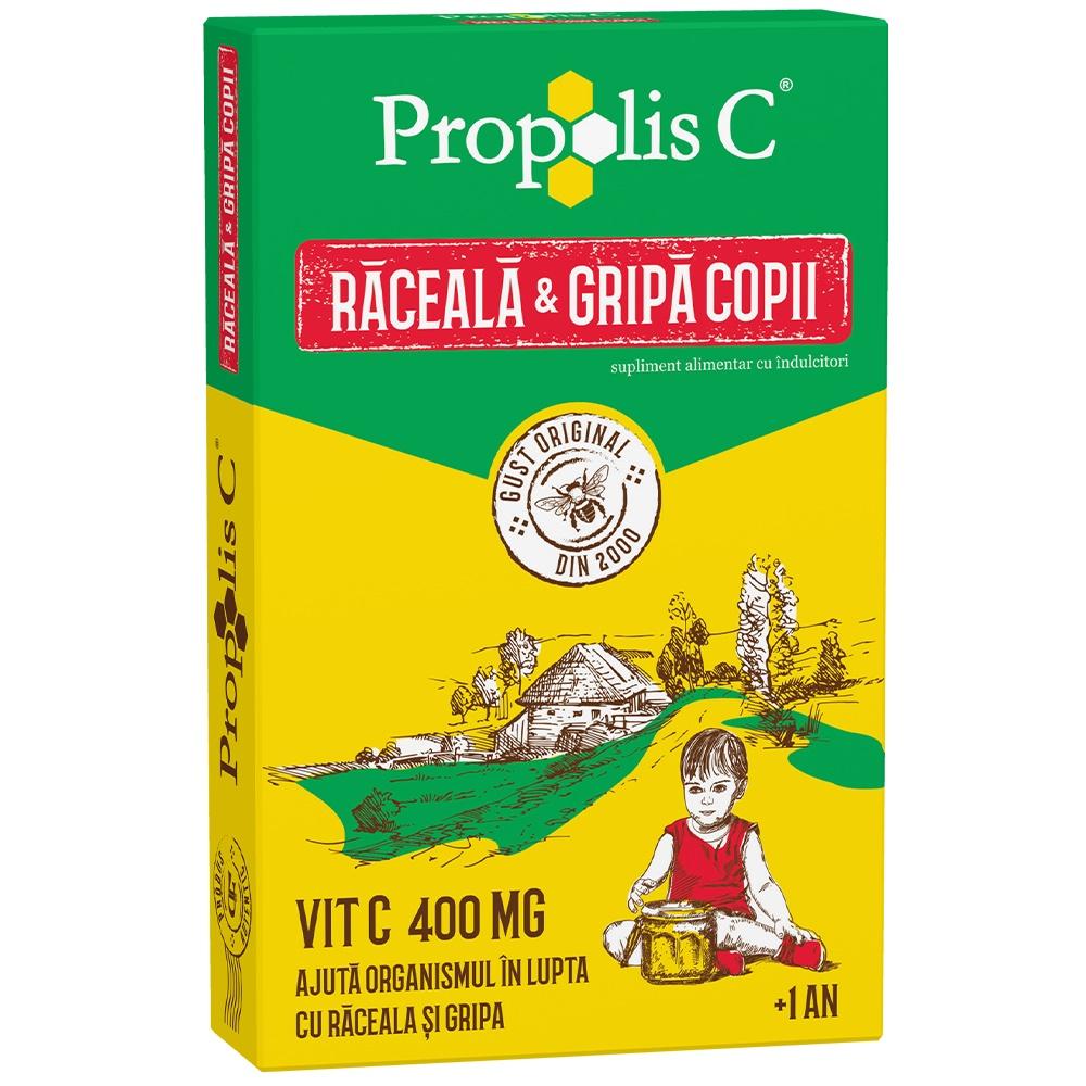 Propolis C raceala si gripa kids +1an, 8 plicuri, Fiterman drmax.ro