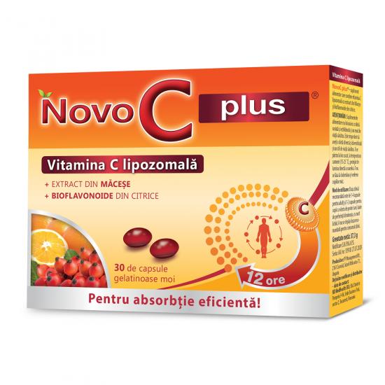 Vitamina C lipozomala Novo C plus, 30 capsule, Krewel Meuselbach drmax.ro
