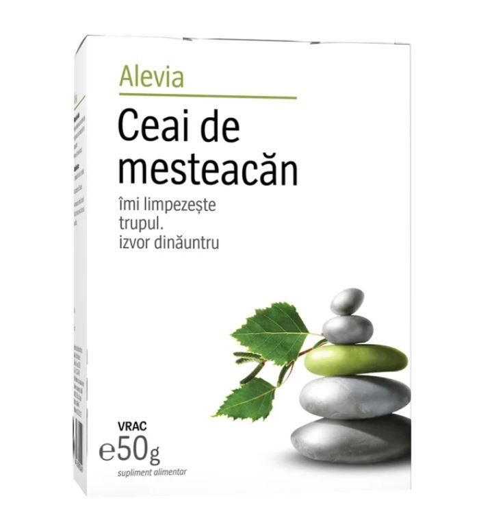 Ceai de mesteacan, 50g, Alevia drmax.ro