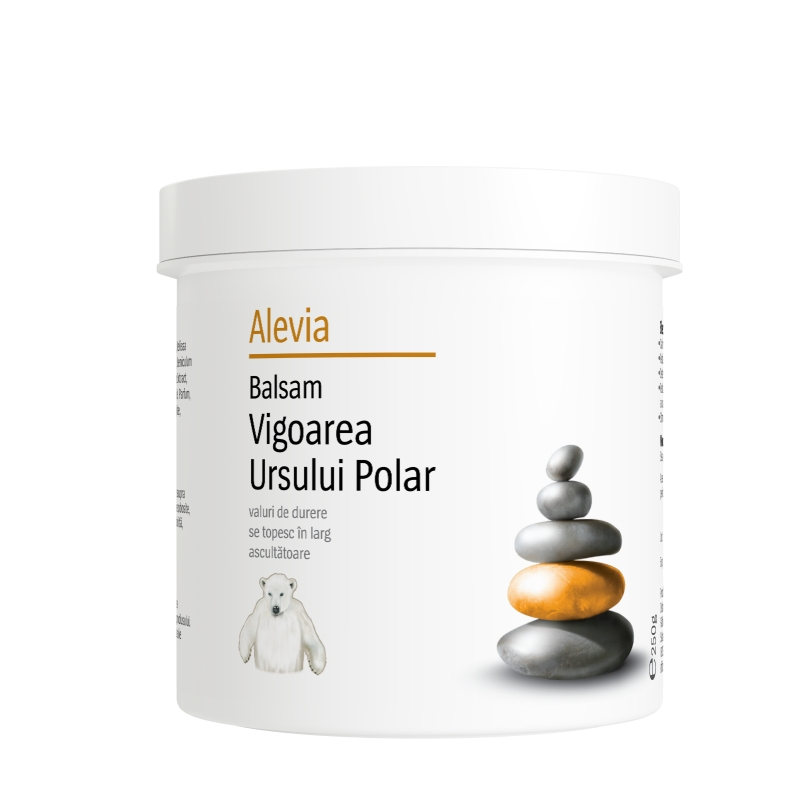Balsam Vigoarea Ursului Polar, 250 g, Alevia drmax.ro