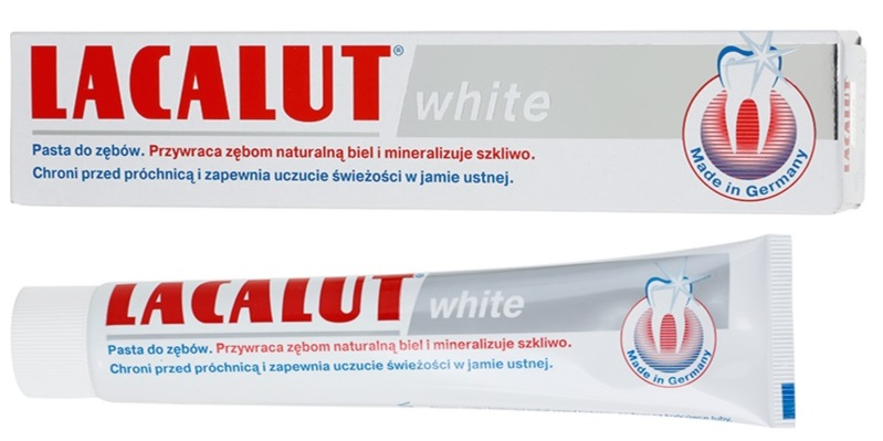 Pasta de dinti White, 75ml, Lacalut drmax.ro