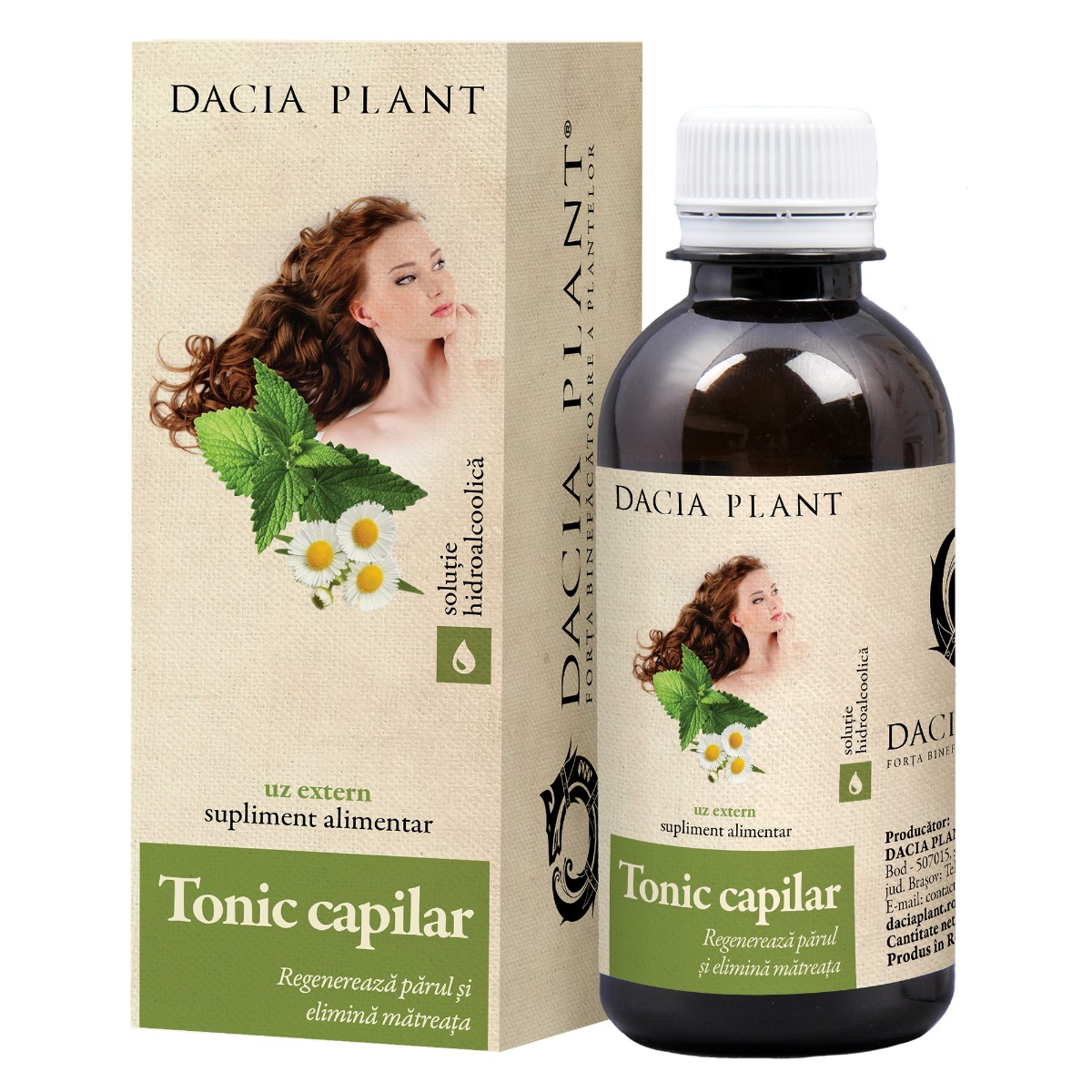 Tonic capilar, 200ml, Dacia Plant drmax.ro