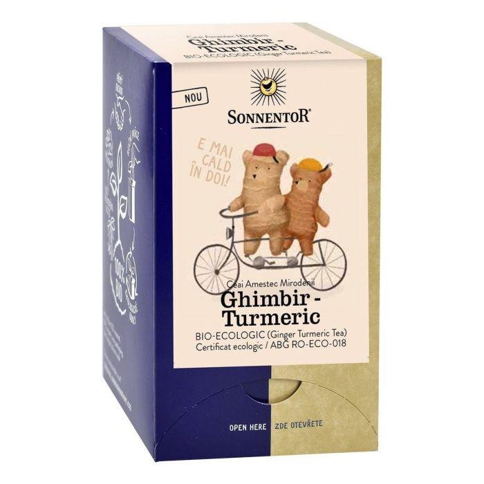 Ceai Bio Ghimbir Turmeric, 18 plicuri, Sonnentor la preț mic imagine