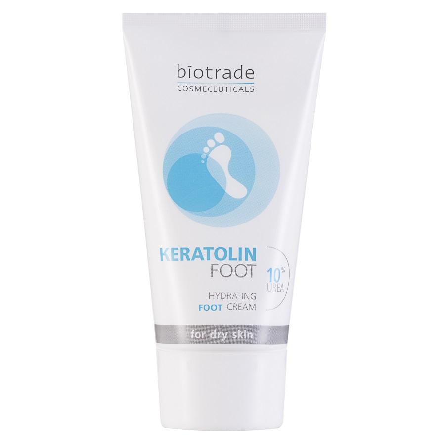 Crema hidratanta pentru picioare cu 10% uree Keratolin Foot, 50ml, Biotrade imagine produs 2021