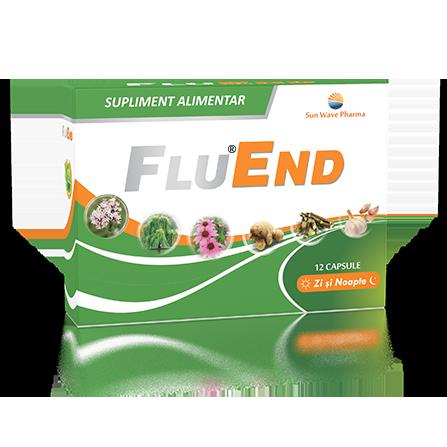 Fluend, 12 capsule, Sunwave la preț mic imagine