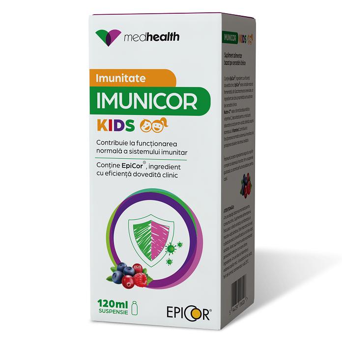 Sirop Imunicor Kids, 120ml, ND Medhealth drmax.ro
