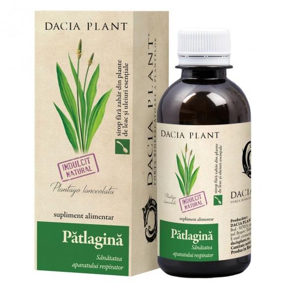 Sirop de patlagina, 200ml, Dacia Plant drmax.ro