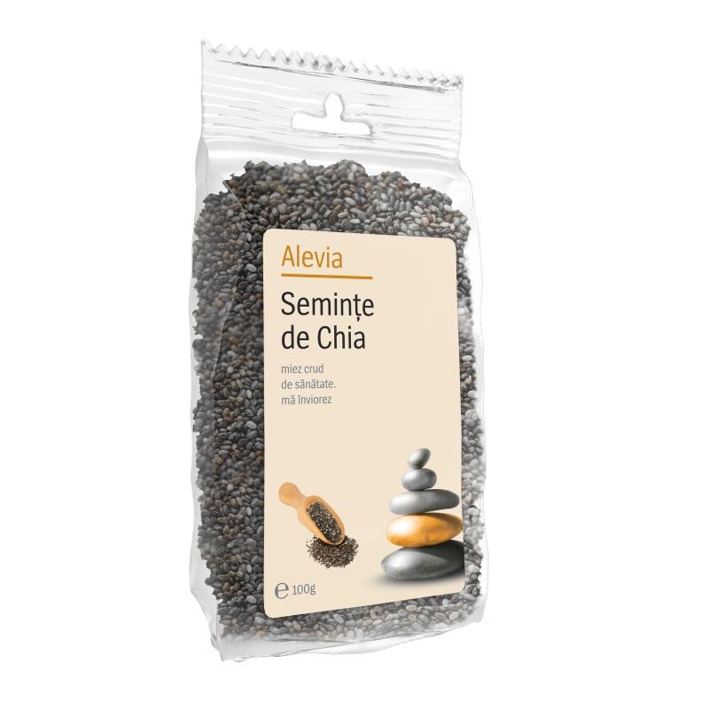 Seminte de Chia, 100 g, Alevia imagine produs 2021
