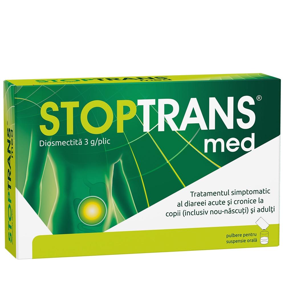 Stoptrans Med, 10 plicuri, Fiterman imagine produs 2021