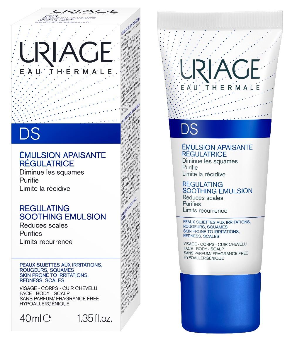 Emulsie de fata pentru dermatita seboreica D.S, 40 ml, Uriage la preț mic imagine