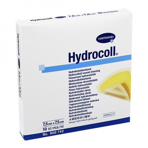 Pansament hidrocoloidal Hydrocoll, 7.5x7.5 cm, 10 bucati, Hartmann imagine produs 2021