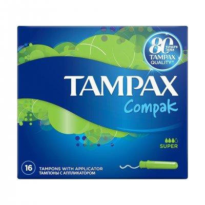 Tampoane Super Duo, 16 bucati, Tampax drmax.ro