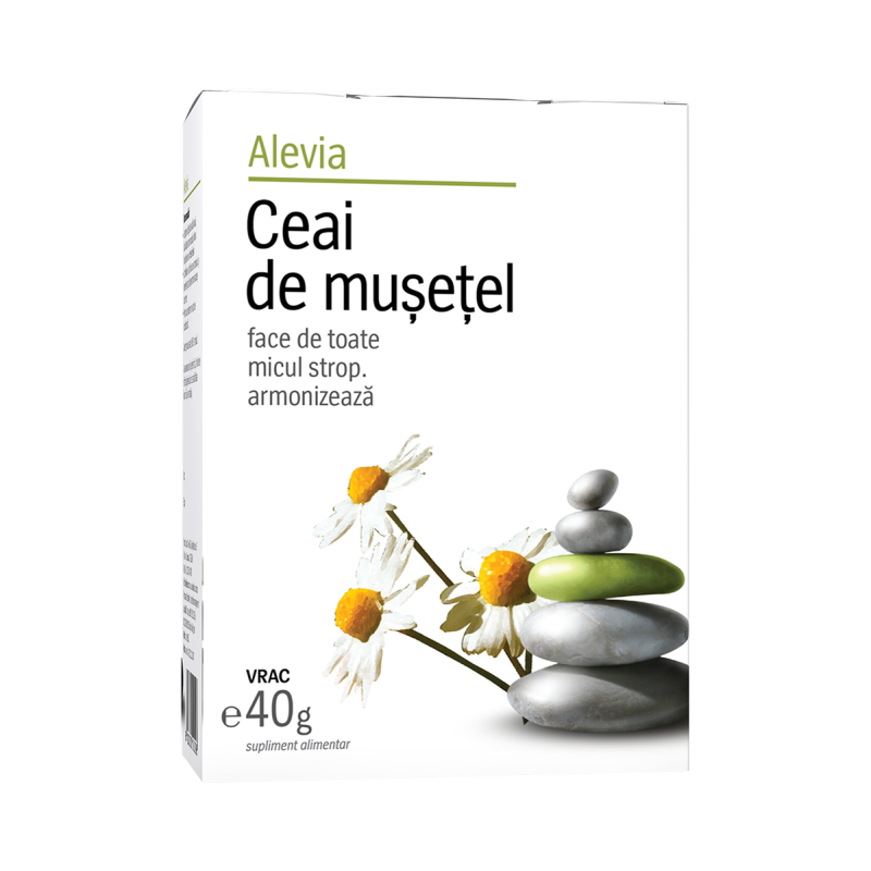 Ceai de musetel, 40g, Alevia drmax.ro