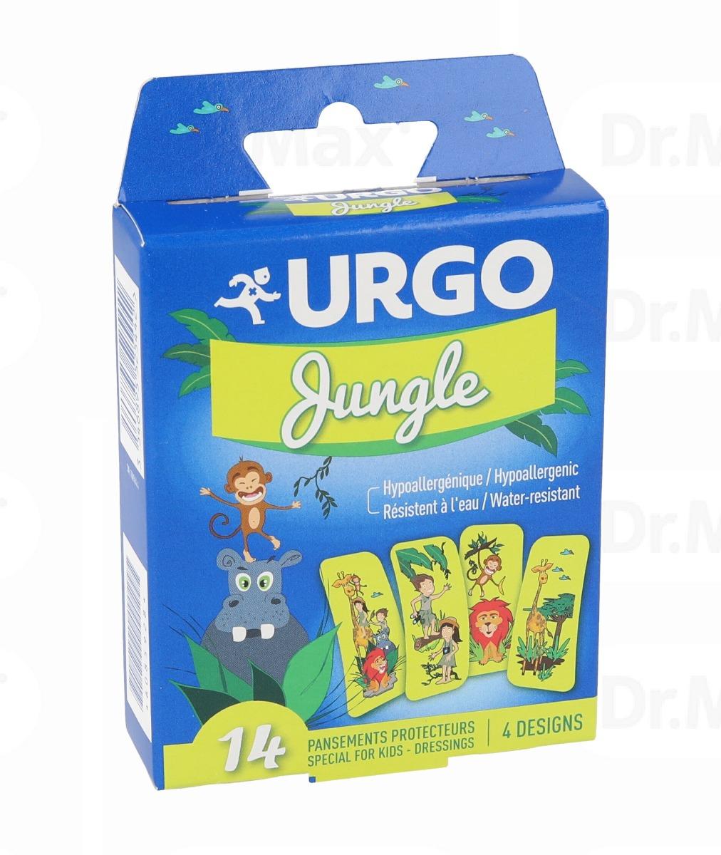 Plasturi pentru copii Jungle, 14 bucati, Urgo