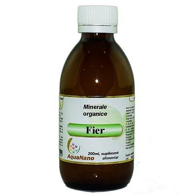 Fier Organic, 200ml, Aghoras drmax.ro