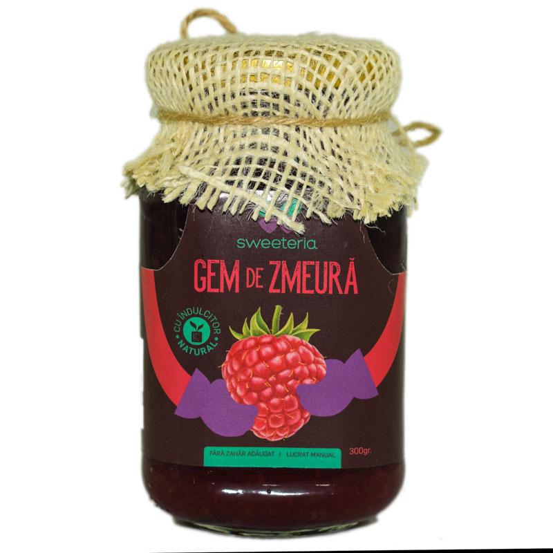 Gem de zmeura fara zahar, 300g, Sweeteria drmax.ro
