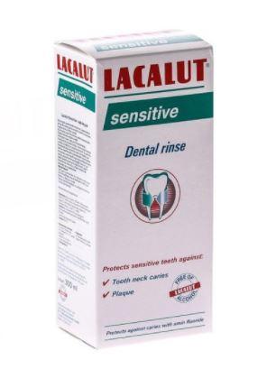 Apa de gura Sensitive, 300ml, Lacalut