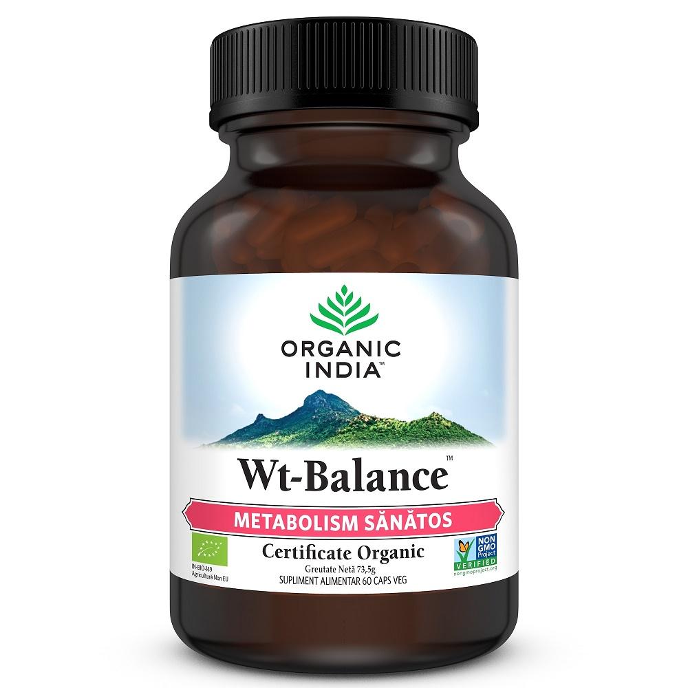 Wt-Balance Metabolism Sanatos, 60 capsule, Organic India drmax poza