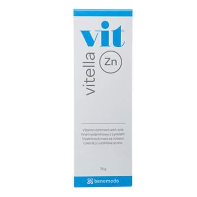 Crema cu vitamine si zinc Vitella, 75ml, Benemedo la preț mic imagine