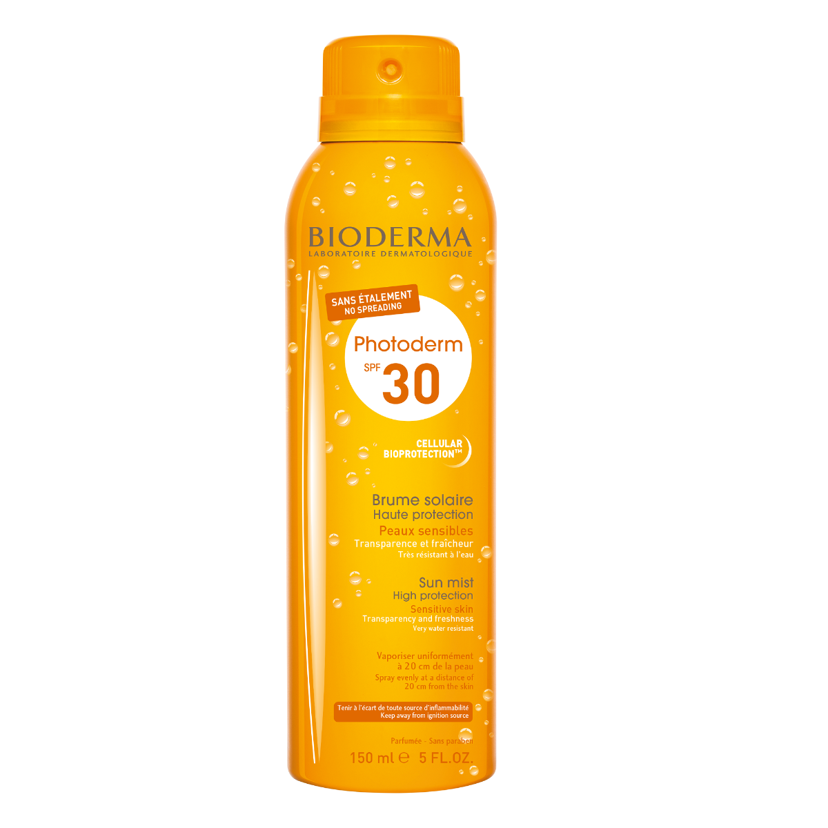 Spray protectie solara SPF 30 Photoderm Brume, 150ml, Bioderma