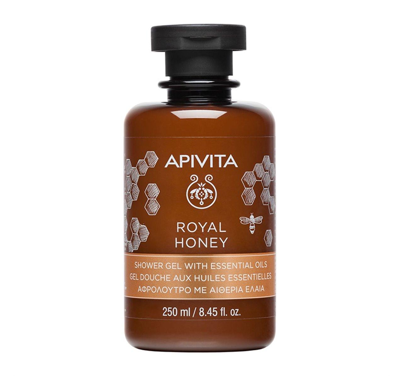 Apivita Royal Honey Gel De Dus 250ml imagine produs 2021