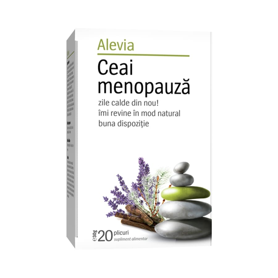 Ceai menopauza, 20 plicuri, Alevia drmax.ro