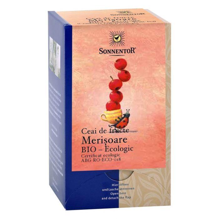 Ceai Bio Merisoare (Afine rosii), 18 plicuri, Sonnentor drmax.ro