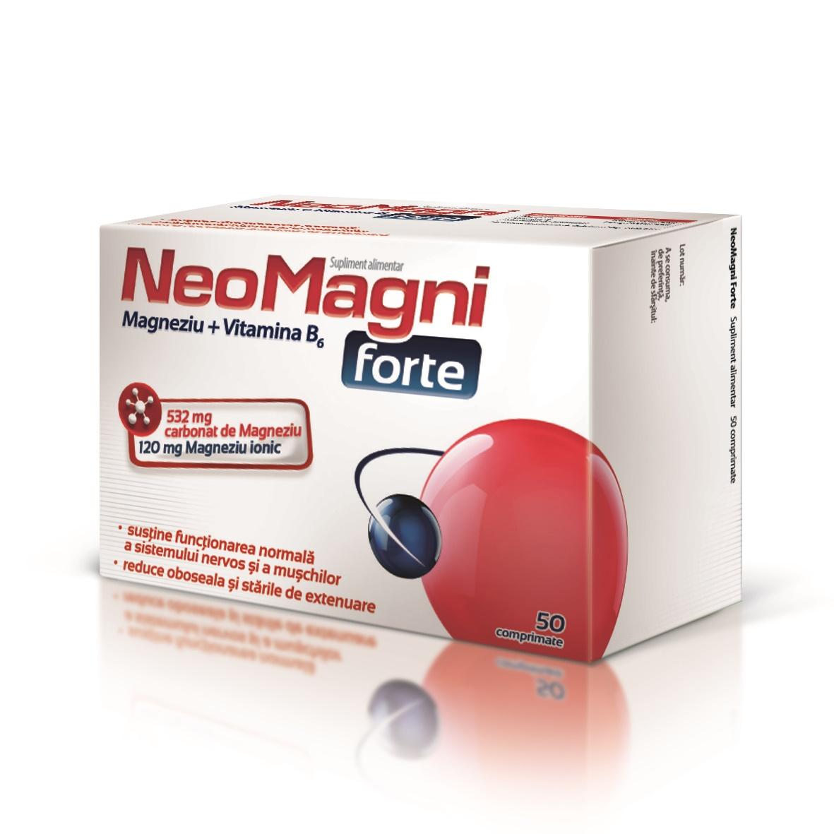 NeoMagni Forte, 50 comprimate, Aflofarm drmax poza
