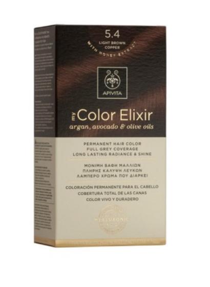 Vopsea My Color Elixir, N5.4, Apivita drmax.ro