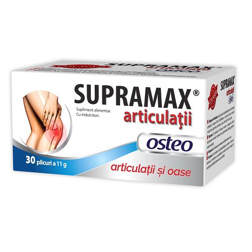 Supramax articulatii Osteo, 30 plicuri, Zdrovit drmax poza