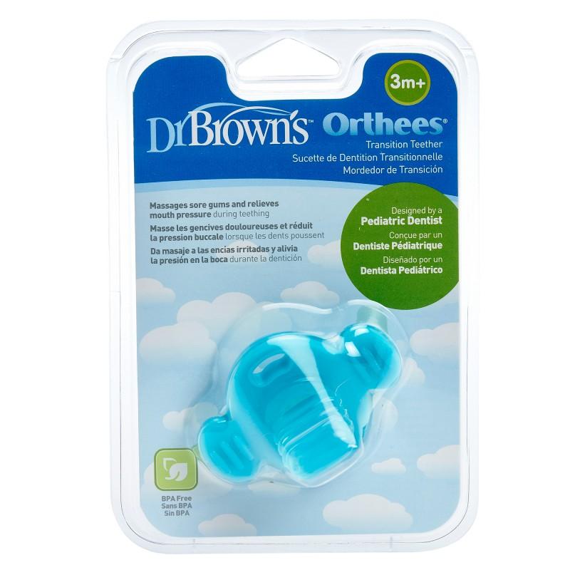 Jucarie de dentitie albastra, 1 bucata, Dr. Brown's drmax.ro