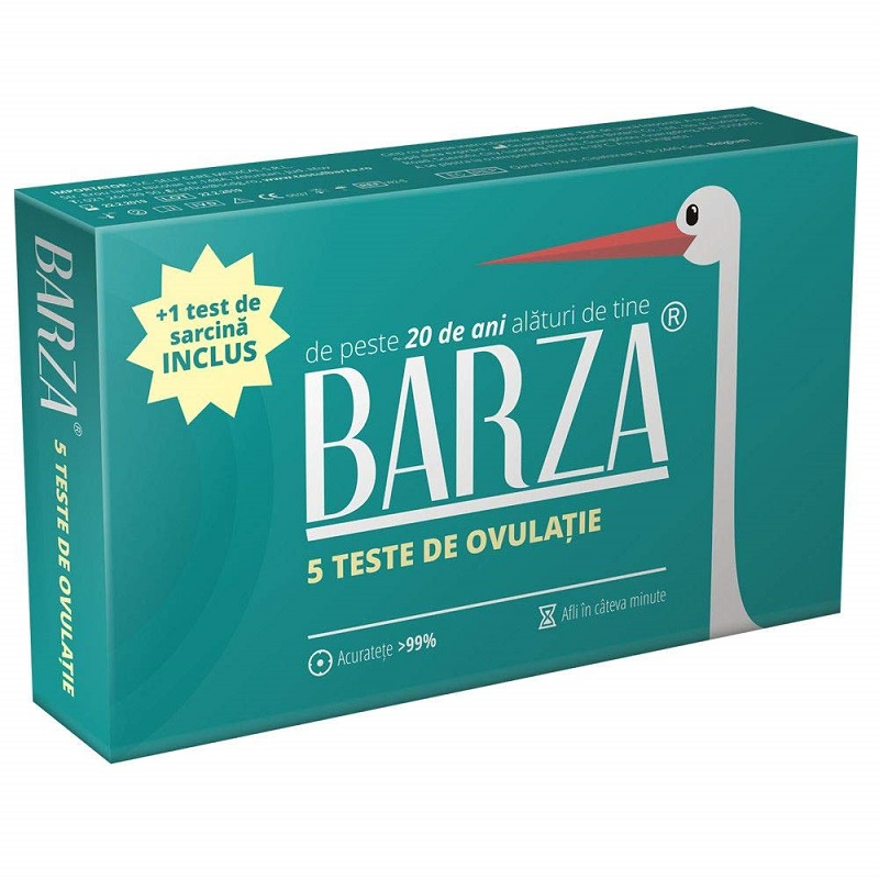 Test de ovulatie, 5 benzi, Barza drmax.ro