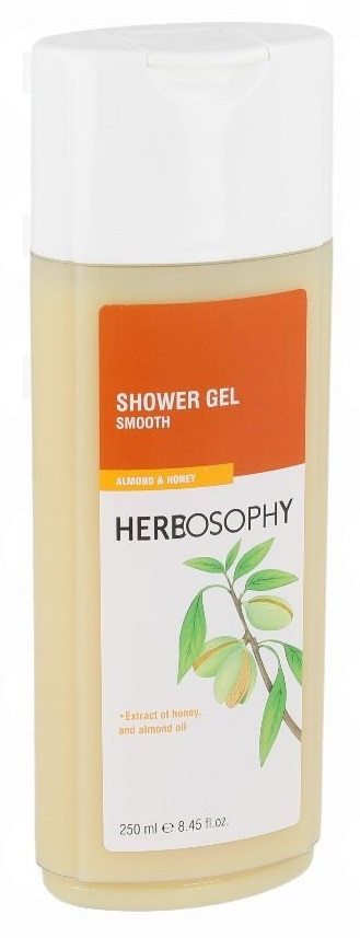 Herbosophy, Gel de dus cu Migdale & Miere, 250ml imagine produs 2021