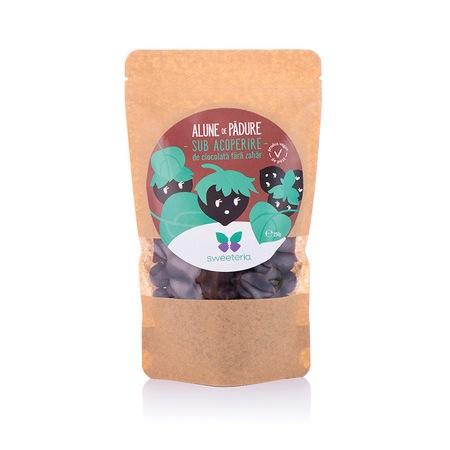 Alune in ciocolata fara zahar, 250g, Sweeteria drmax.ro