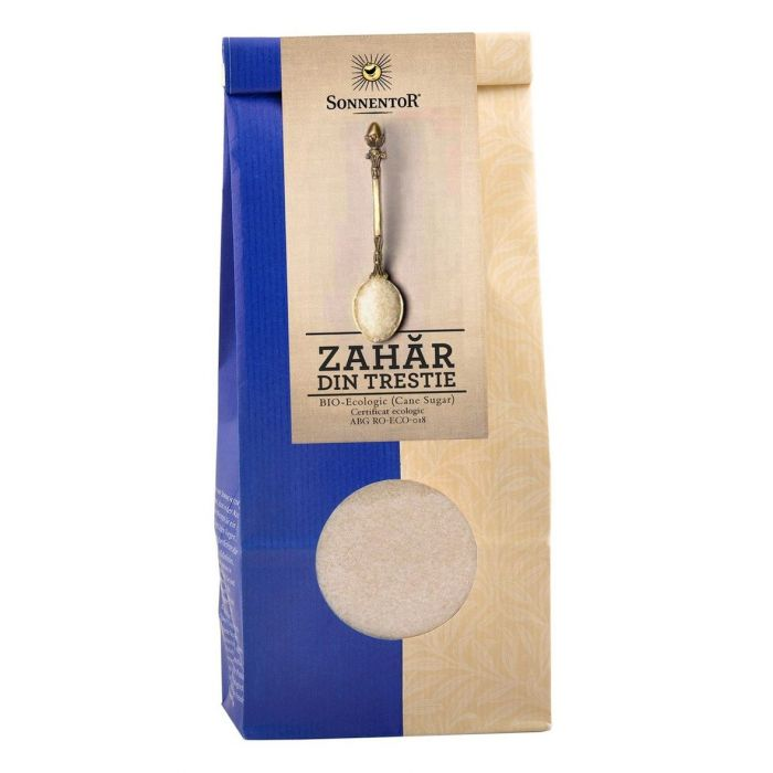 Zahar Bio din trestie brut, 1kg, Sonnentor drmax.ro