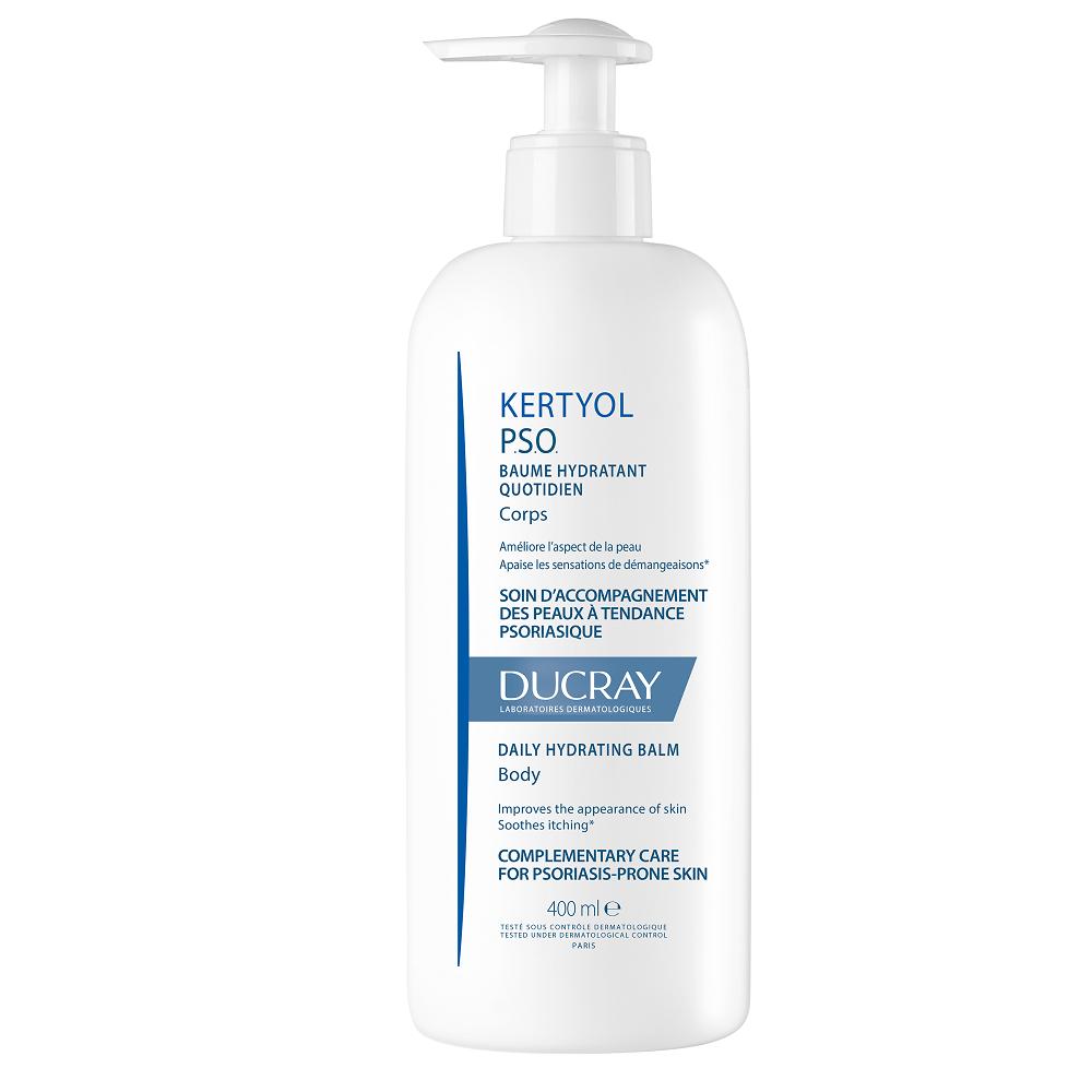 Balsam hidratant pentru piele cu scoame uscate si ingrosate Kertyol PSO, 400ml, Ducray drmax.ro