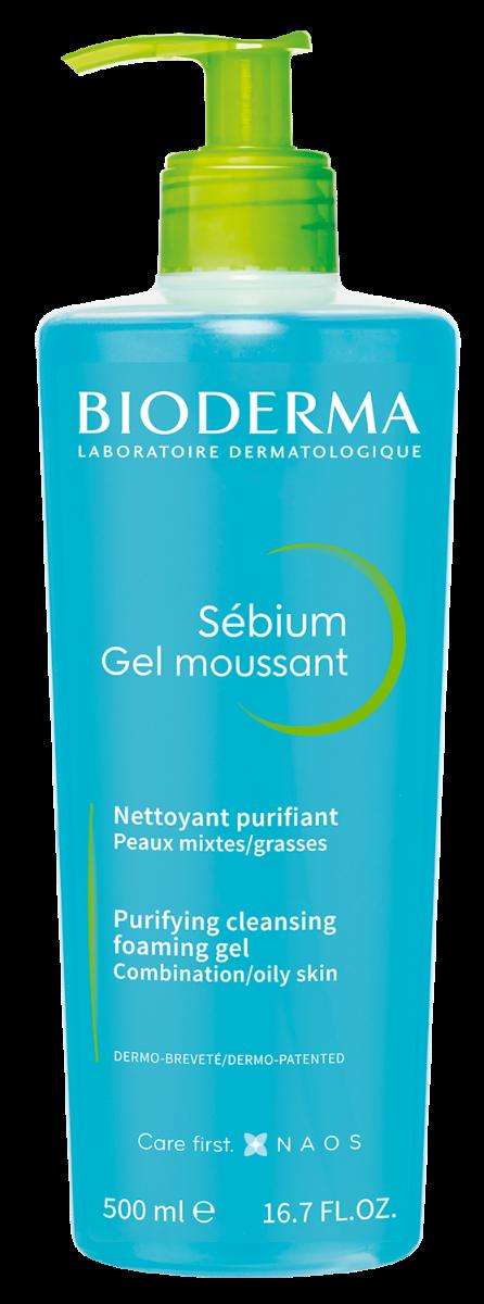 Gel spumant Sebium, 500ml, Bioderma drmax.ro
