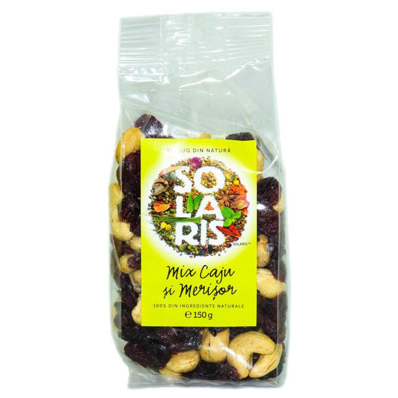 Fructe Uscate Mix Caju si Merisor, 150g, Solaris drmax poza