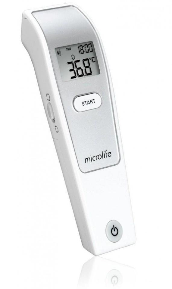 Termometru infrarosu NC150, 1 bucata, Microlife drmax.ro