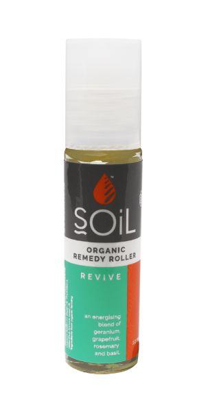 Roll-On Bio Revive Amestec Energizant si Echilibrant cu uleiuri esentiale, 11ml, Soil drmax poza